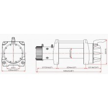 Titanium Winch RENEGADE 17000 lbs 12V
