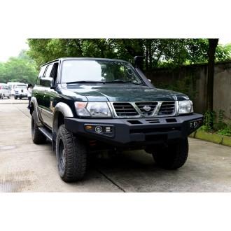 Hliníkový predný nárazník Nissan Patrol Y61 (1998-2004)