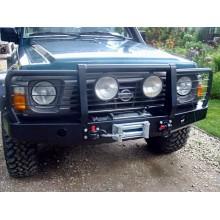 Oceľový predný nárazník Nissan Patrol Y60 (1987-1997)