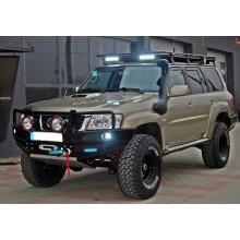 Oceľový  predný nárazník Nissan Patrol Y61 GU4 (2004-2012)