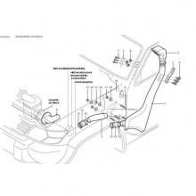 Šnorchle-Nissan Patrol GR Y61 GU4 3.0 TDI (od 09/04)