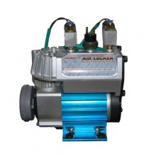 Kompresor s 2 ovládacími prvkami uzavierok