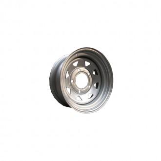 Oceľové disky 5x139,7 R15x7 ET-6 Silver