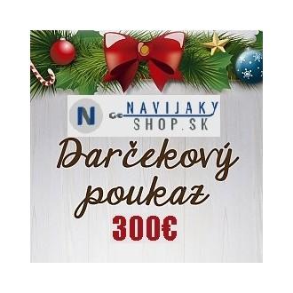 Darčekový poukaz 300€