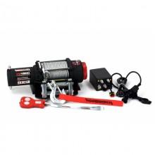 ATV navijak Powerwinch PW4500lbs 12V s oceľovým lanom