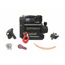 Navijak Husar Winch BTS S 12000lbs- dojmotorový, syntetické lano