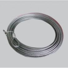 CERTIFIKOVANÉ oceľové lano 25mx10mm