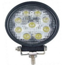 LED pracovné svetlo okruhle 27W